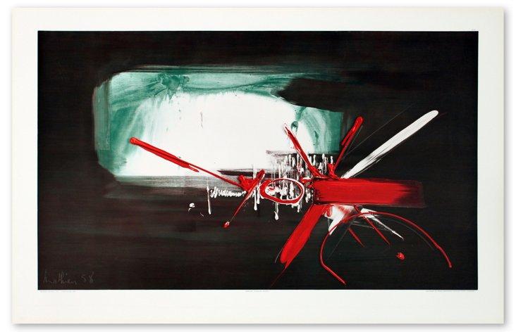 Georges Mathieu, Composition (1958)
