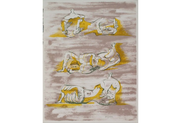 Henry Moore, XXième Siècle