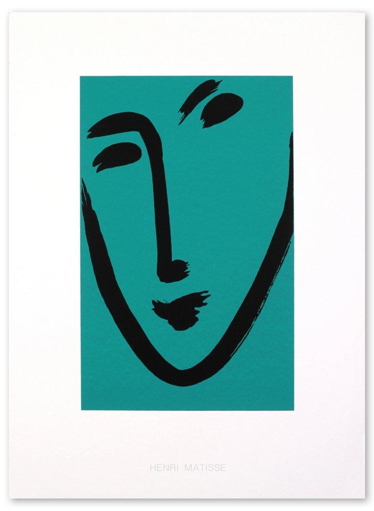 Henri Matisse, Viso Maschera (Green)