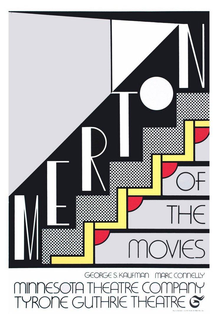 Roy Lichtenstein, Merton of The Movies