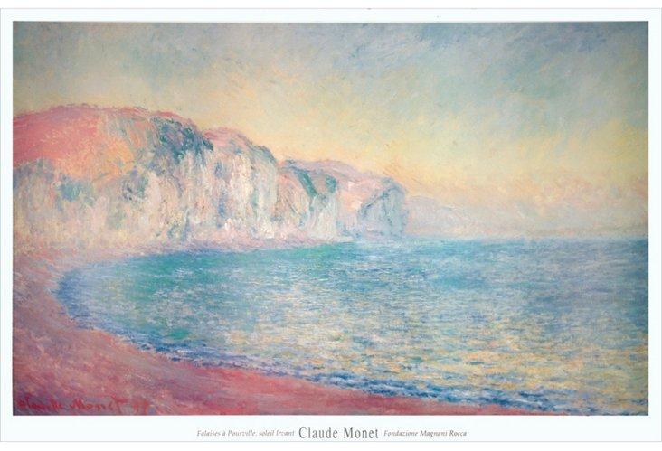 Claude Monet, Falaises a Pourville