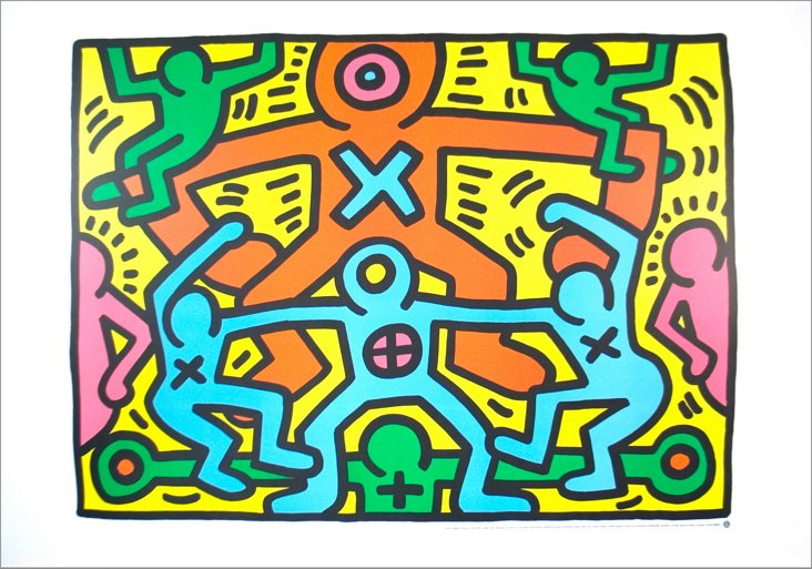 Keith Haring, Untitled, 1985