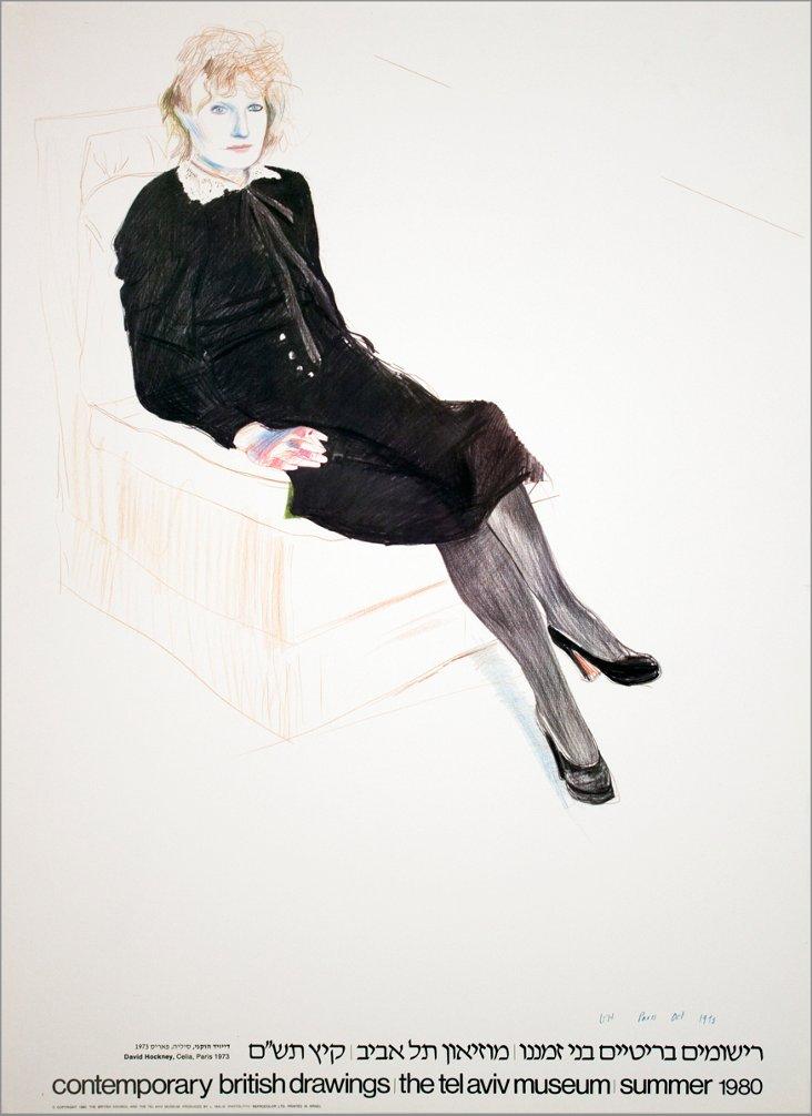 David Hockney, Celia, Paris