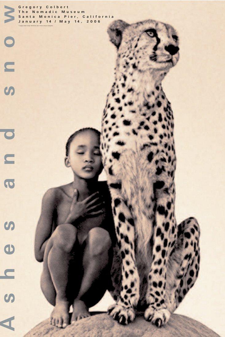 Colbert, Child with Cheetah