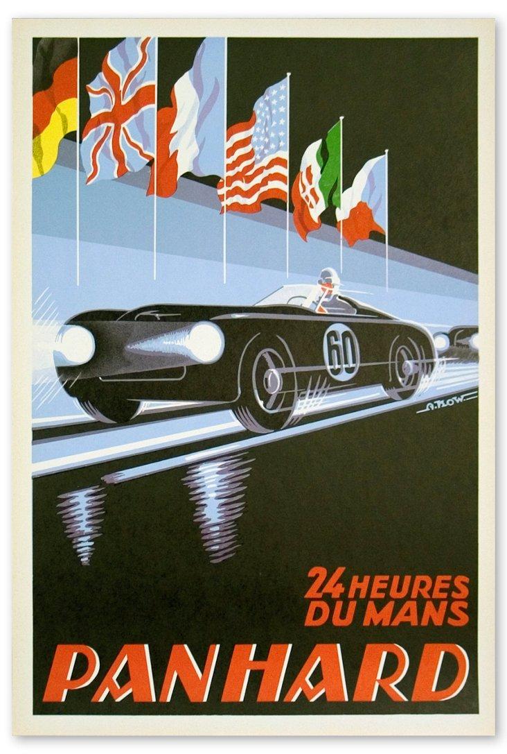 A. Kow, Panhard, 24 Heures Du Mans