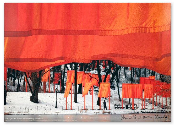 Christo, Gates Central Park II, Signed