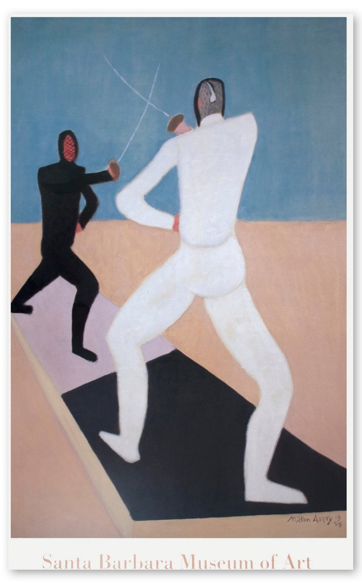 Milton Avery, The Fencers