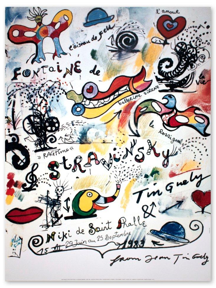 Jean Tinguely, La Fontaine Stravinsky