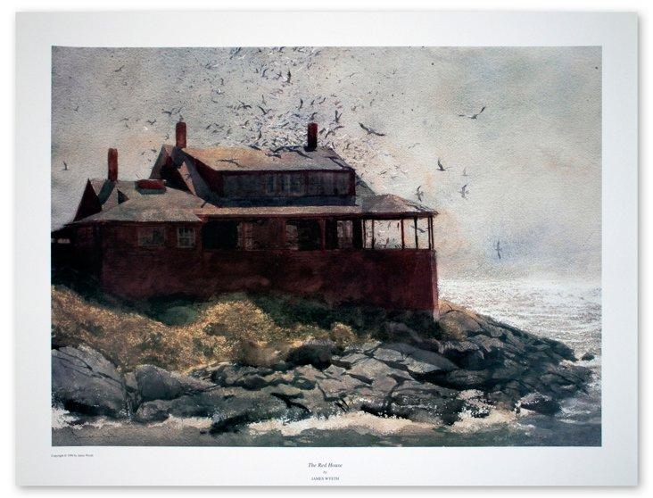 Jamie Wyeth, The Red House