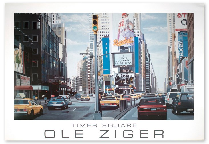 Ole Zilger, Times Square