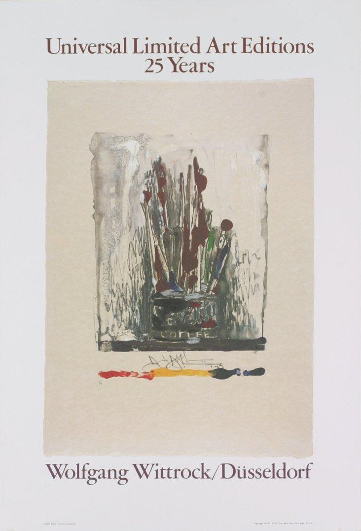 Jasper Johns, Savarin, Monotype