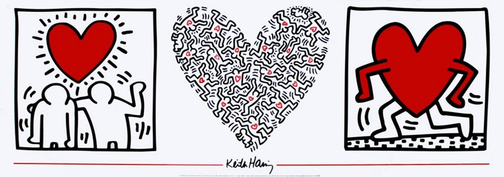 Keith Haring, Untitled (1987)