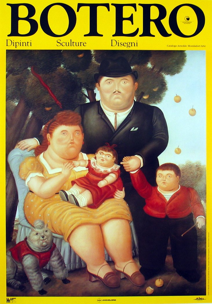 Fernando Botero, La Famiglia