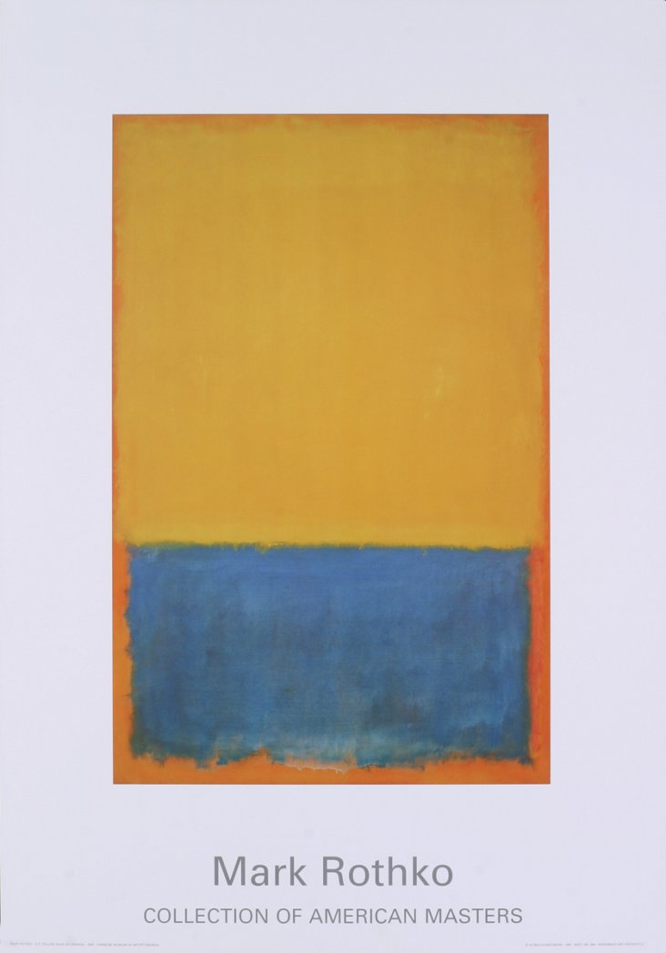 Mark Rothko, Yellow, blue, orange (1955)