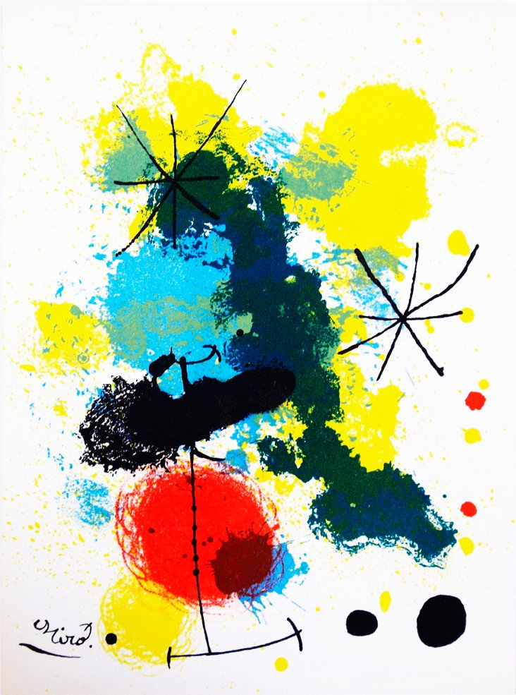 Joan Miró, Composition
