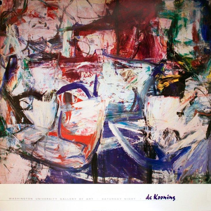 Willem de Kooning, Saturday Night