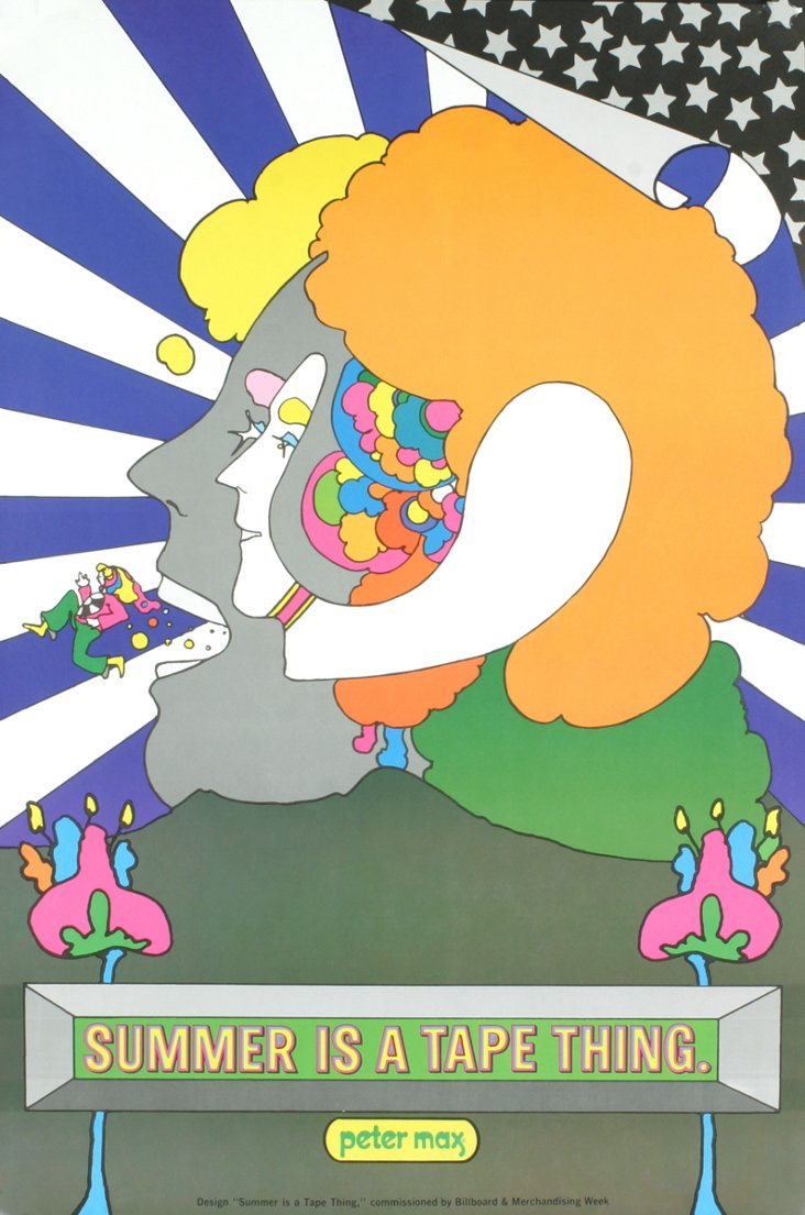 Peter Max, Summer is a Tape Thing