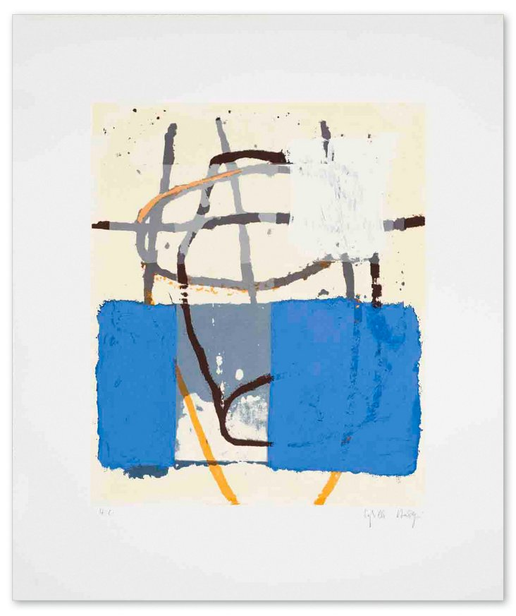 Sybille Hassinger, Untitled III - Signed