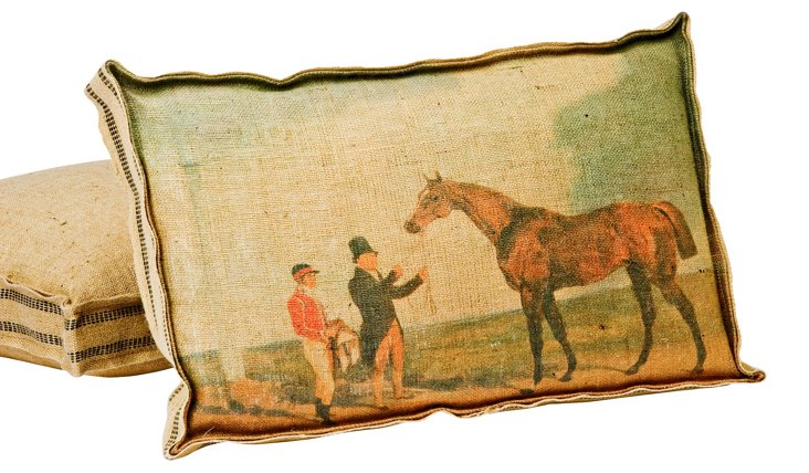 Thoroughbred Multi Layer Pillow