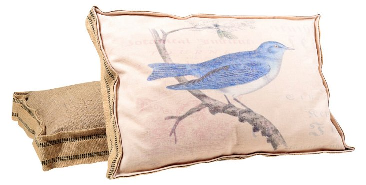 Berlin Blue Jay Multi Layer Pillow
