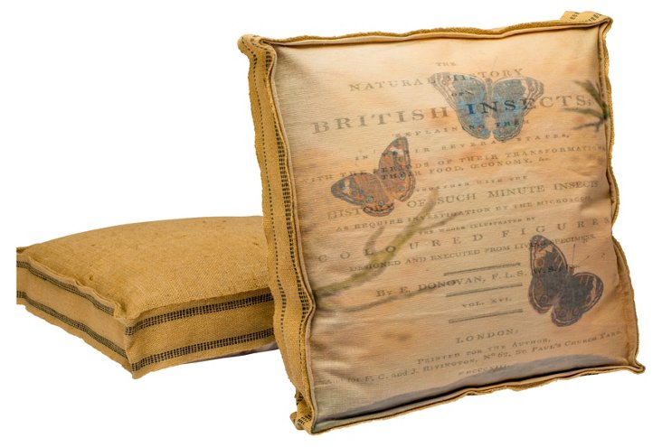 Butterfly No.1 Multi Layer Pillow