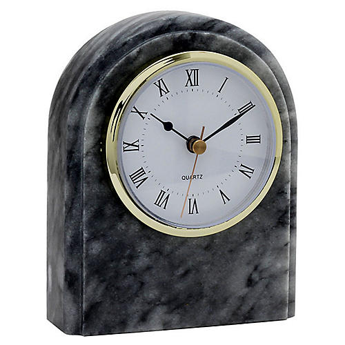 "6"" Wardlow Desk Clock, Cloud Gray"