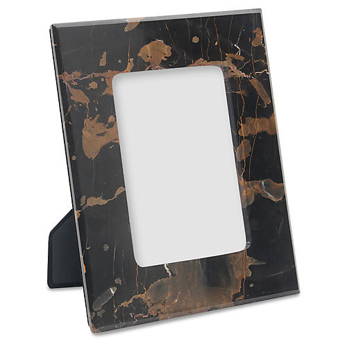 Mallet Frame, Black/Gold