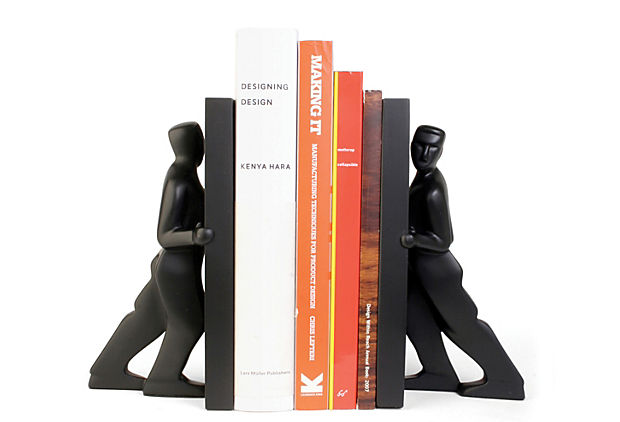 Pair of Bookends, Pushing Men