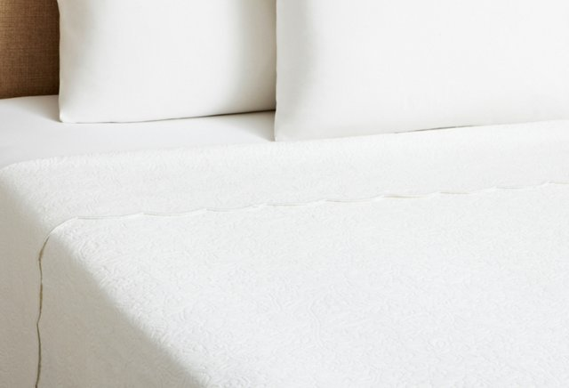 Butterfield Coverlet, White