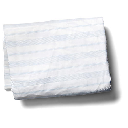 Westminster Fitted Sheet, Blue
