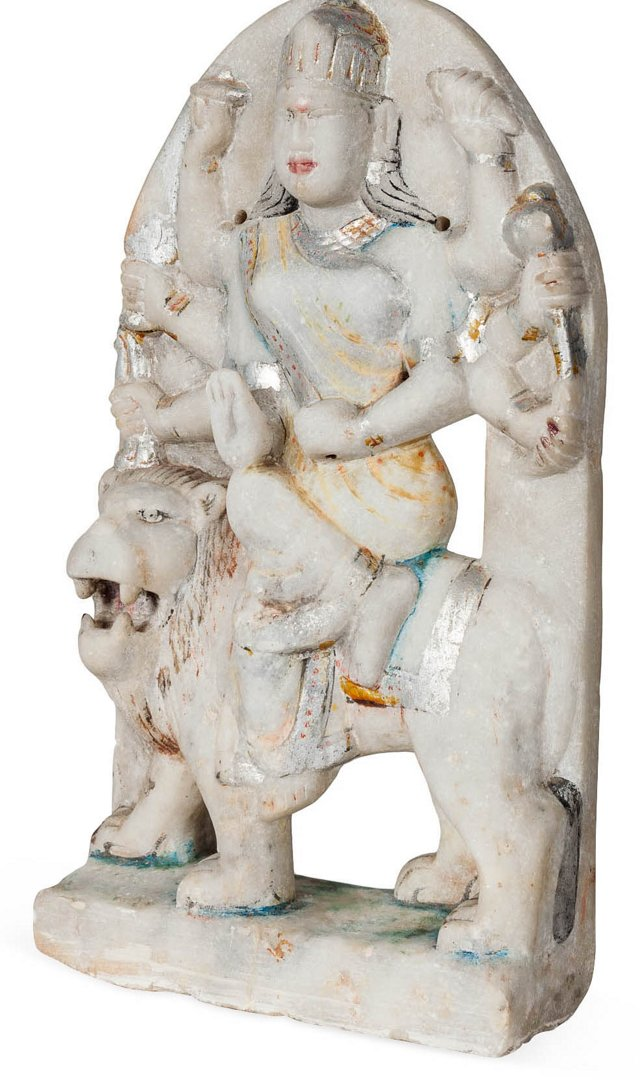 Marble Durga Statue V