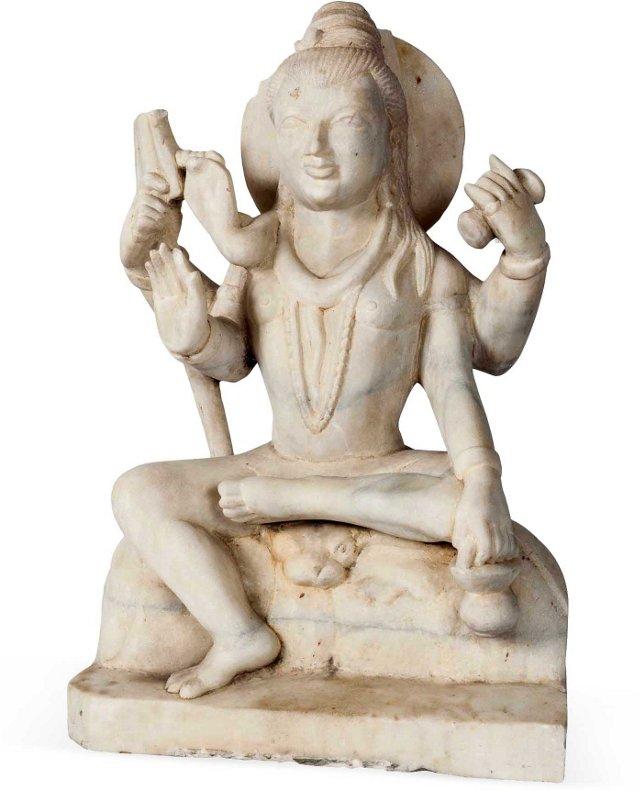 Marble Shiva Statue I