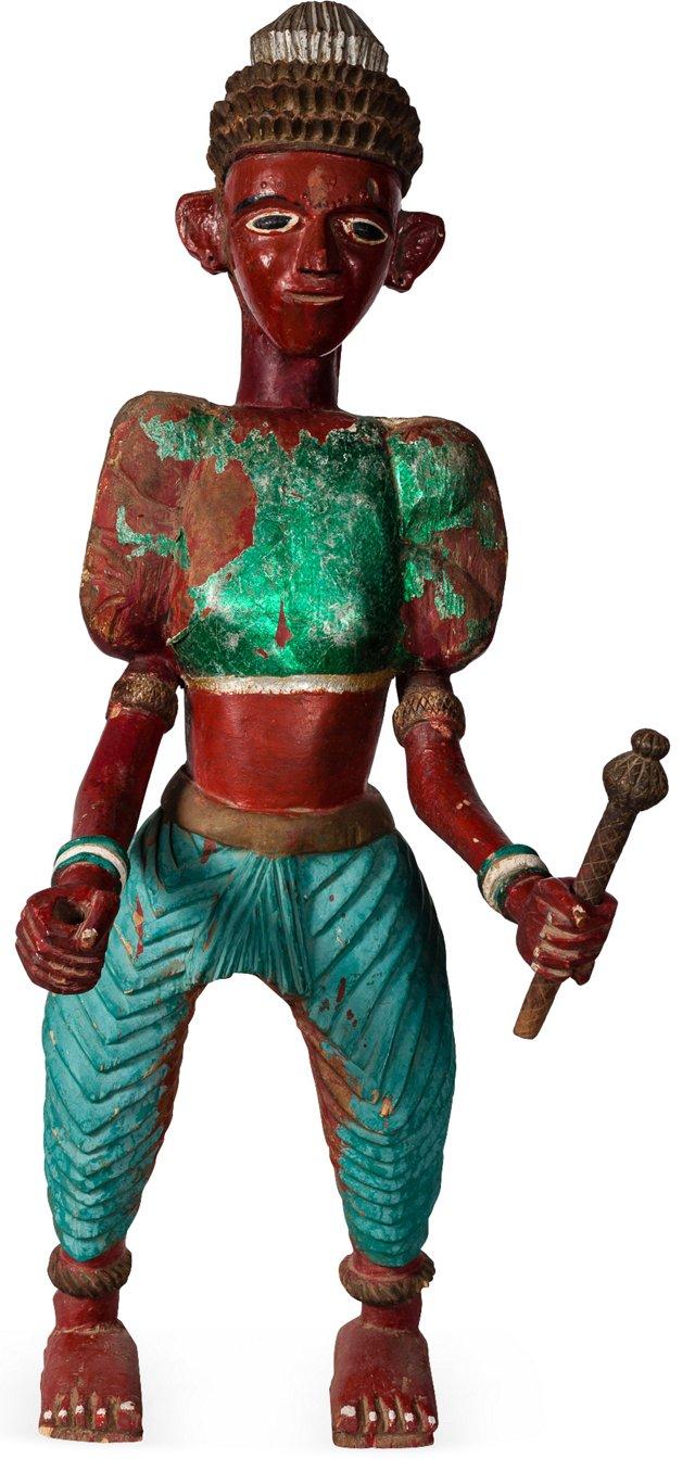 19th-C. Maharashtra Temple Statue I