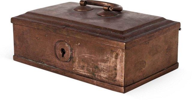 Copper Betel Nut Box, Small