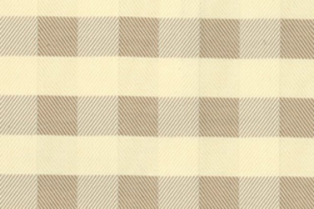 Twill Check, Fawn, 5 Yds