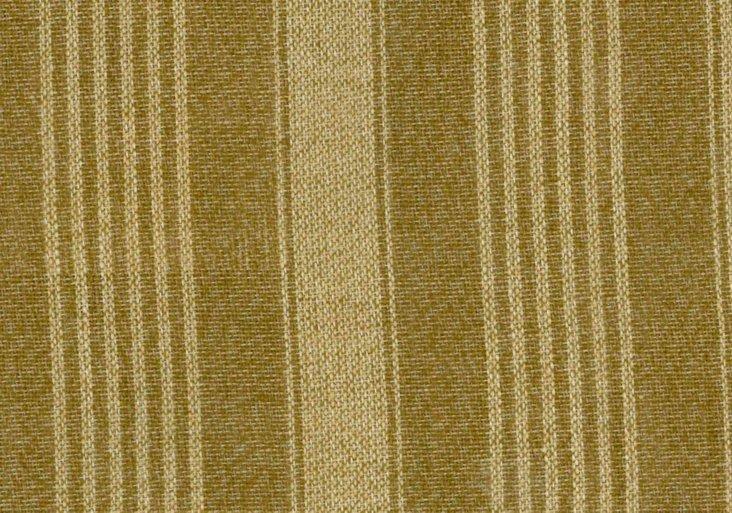 Oxford Stripe, Heath/Sand, 5 Yds