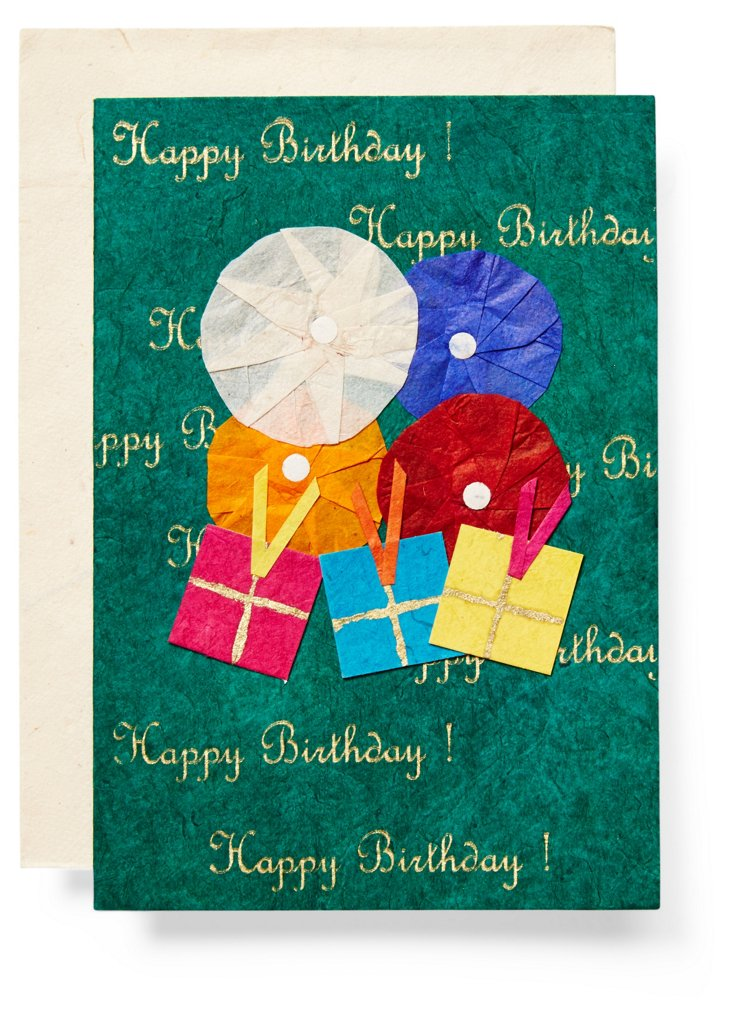 S/3 Birthday Cards, Presents