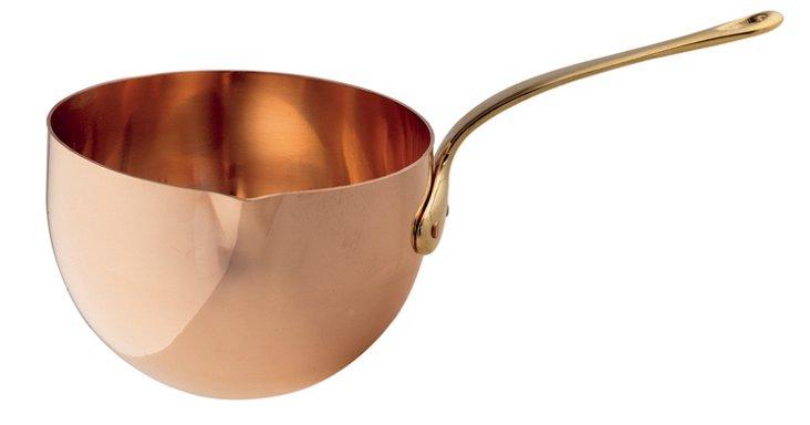 Copper Zabaglione Bowl