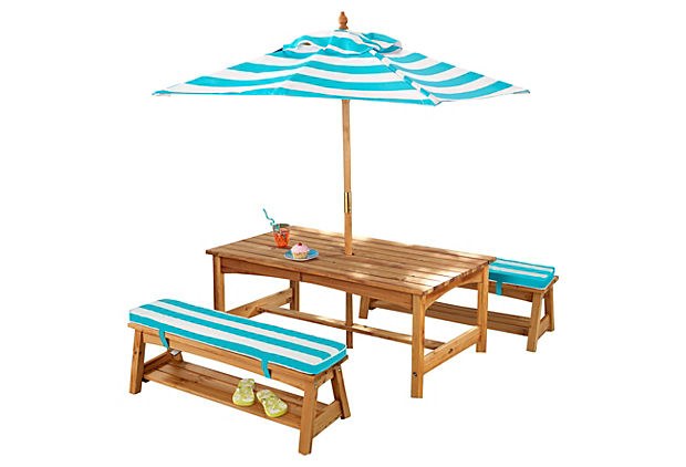 Under-the-Sun Table & Bench Set