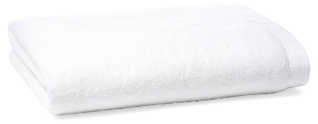 Loop Bath Sheet, White