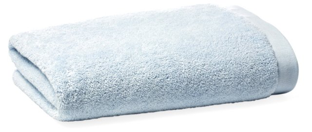 Loop Bath Towel, Spa Blue