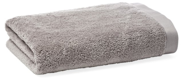 Loop Bath Towel, Pewter