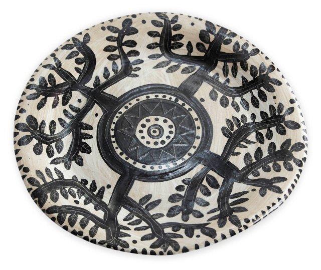 Glazed Tree of Life Platter