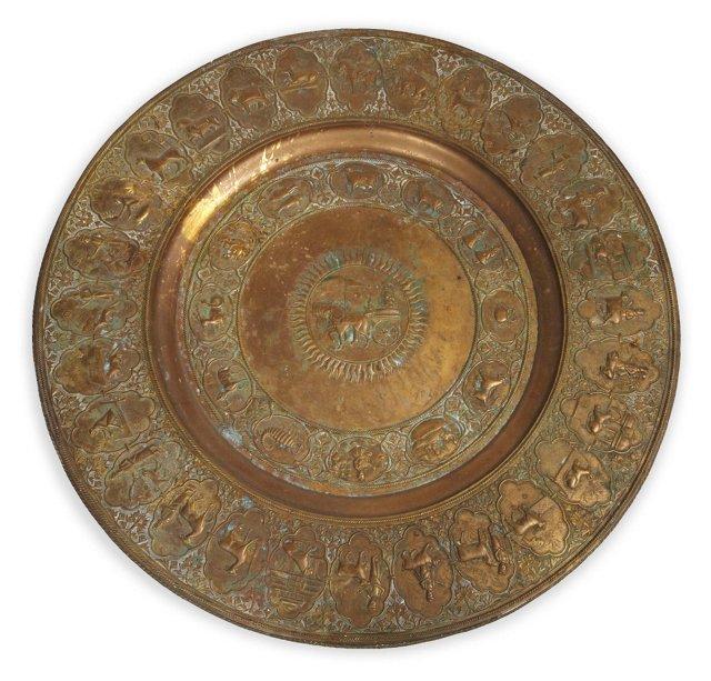 Vintage Zodiac Tray