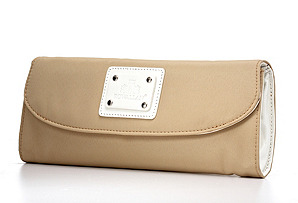 Wallet Clutch, Tan