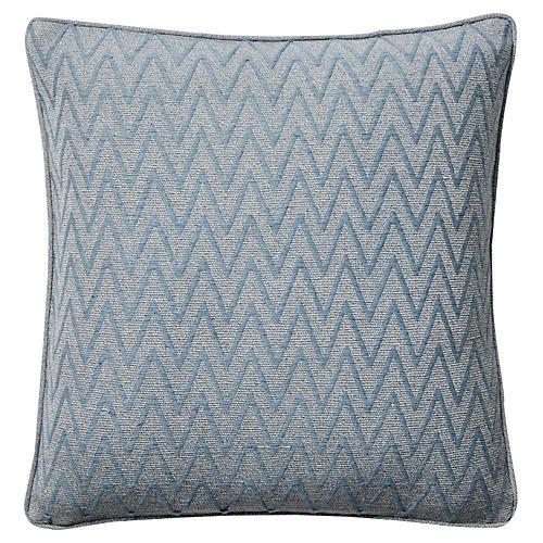 Monterey I 18x18 Pillow, Blue