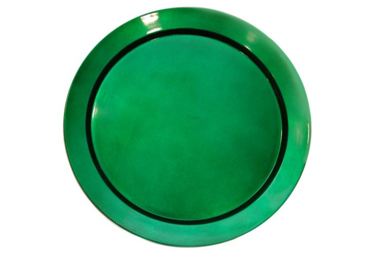 Pimpernal Charger, Green
