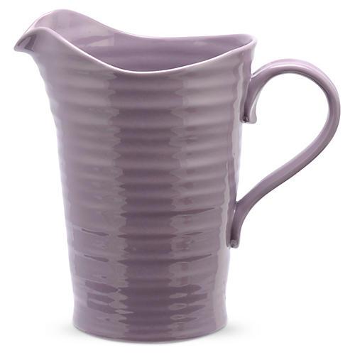 Porcelain Pitcher/Jug, Purple