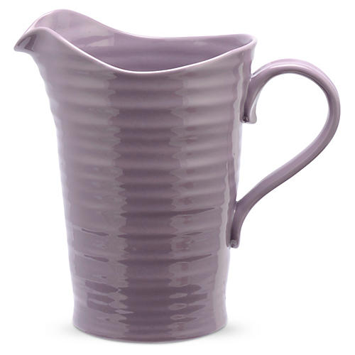 Porcelain Pitcher/Jug, Purple
