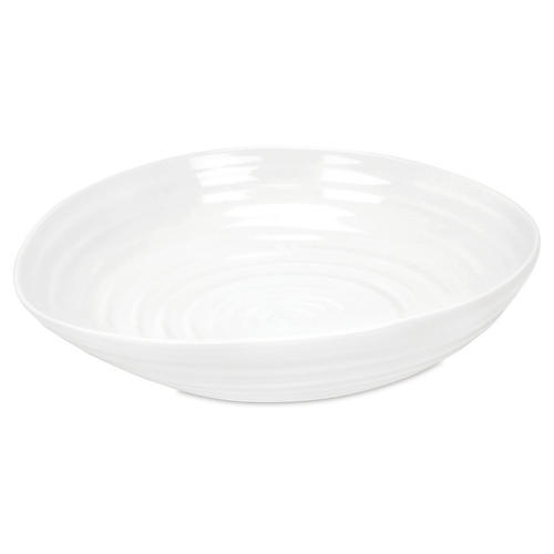 S/4 Porcelain Pasta Bowl, White